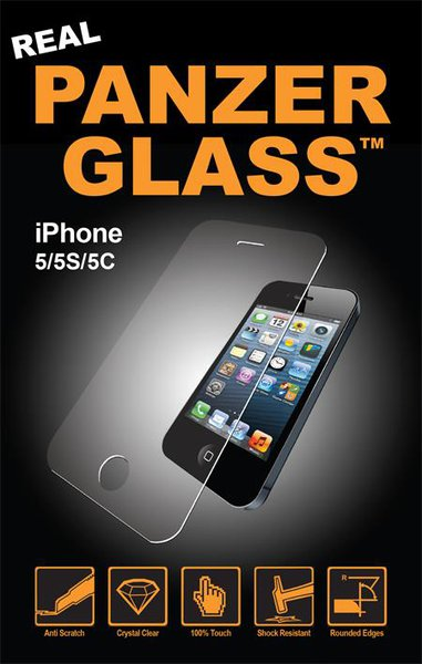 PanzerGlass - Tempered Glass for Apple iPhone SE / 5C / 5S / 5