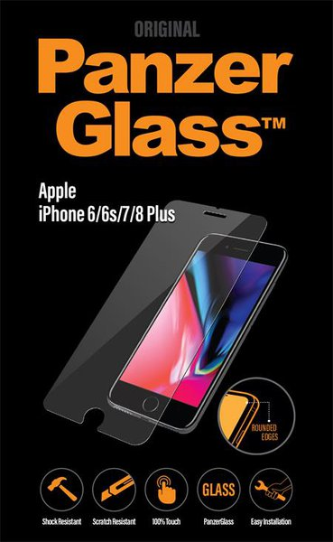 PanzerGlass - Tempered Glass for Apple iPhone 8/7 / 6S / 6 Plus
