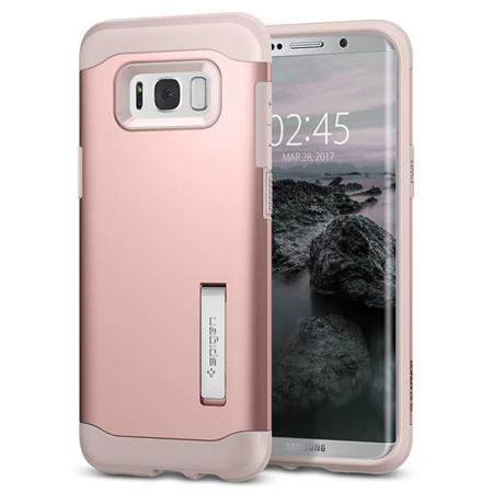 Spigen - Slim Armor for Galaxy S8 +, Pink Gold