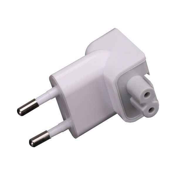 Apple - EU Connector for MagSafe Adapter, white