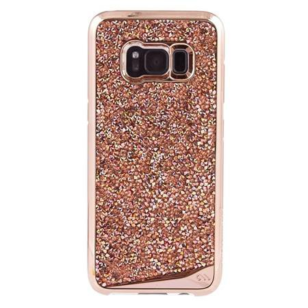 Case-Mate - Brilliance Case for Samsung Galaxy S8, Pink Gold