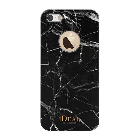 iDeal of Sweden - Fashion Case for Apple iPhone SE / 5S / 5, Black Marble