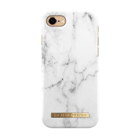 iDeal of Sweden - Fashion Case for Apple iPhone SE 2020/8/7/6s/6, white marble
