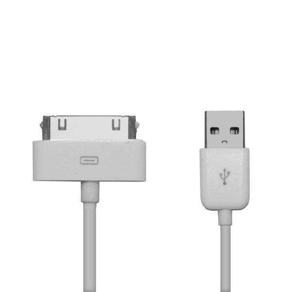 SBS - Apple Dock Data Cable, 1m, White