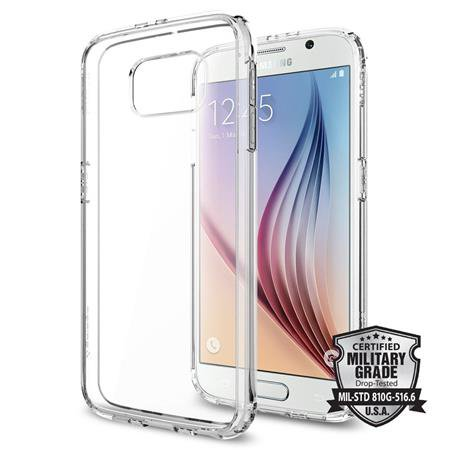 Spigen - Ultra Hybrid for Galaxy S6, Transparent