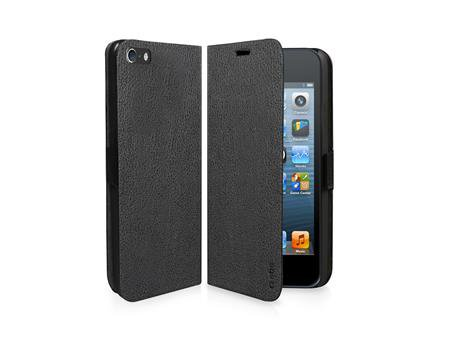 SBS - Book Case for Apple iPhone 5S / 5, Black