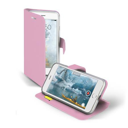 SBS - Book Sense case for iPhone SE 2020/8/7 / 6S / 6, pink