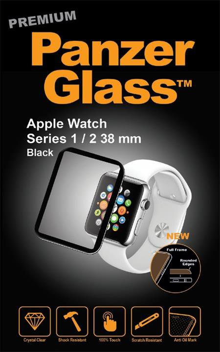PanzerGlass - Tempered Glass for Apple Watch 2 38mm