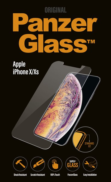 PanzerGlass - Tempered Glass for iPhone X / XS