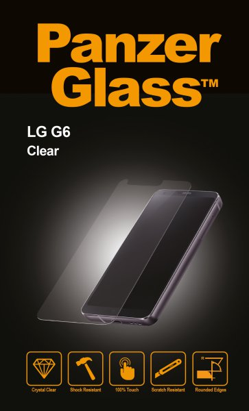 PanzerGlass - Tempered Glass for LG G6