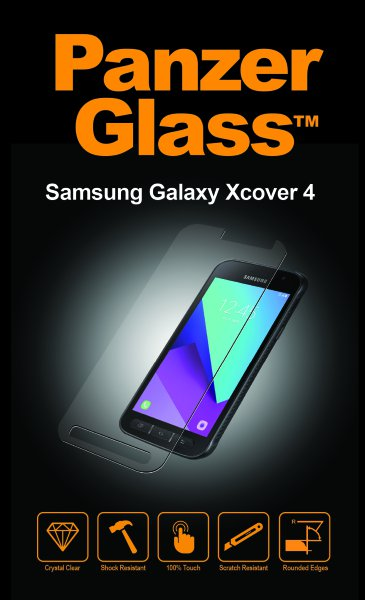 PanzerGlass - Tempered Glass for Samsung Galaxy Xcover 4
