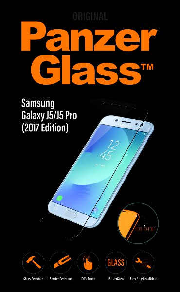 PanzerGlass - Tempered glass for Samsung Galaxy J5 / J5 Pro (2017), clear