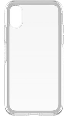 OtterBox - Symmetry Clear for Apple iPhone X / XS, Transparent