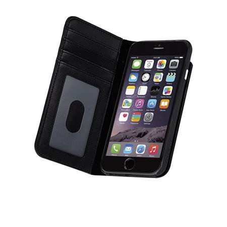 Case-Mate - Wallet Folio Case for Apple iPhone 8/7 / 6S / 6, Black