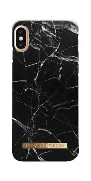 iDeal of Sweden - Fashion Case for Apple iPhone X / XS, Black Marble