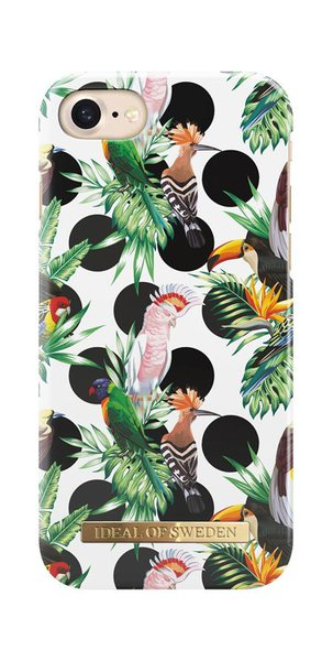 iDeal of Sweden - Fashion Case for Apple iPhone SE 2020/8/7/6s/6, tropical dots-themed