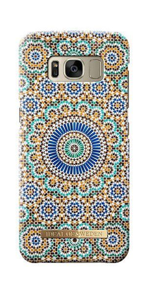 iDeal of Sweden - Fashion Case for Samsung Galaxy S8, Moroccan Zellige Color Theme
