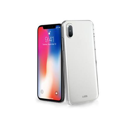 SBS - Clear Fit Case for iPhone X / XS, Transparent