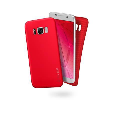 SBS - Polo Case for Samsung Galaxy S8 +, Red