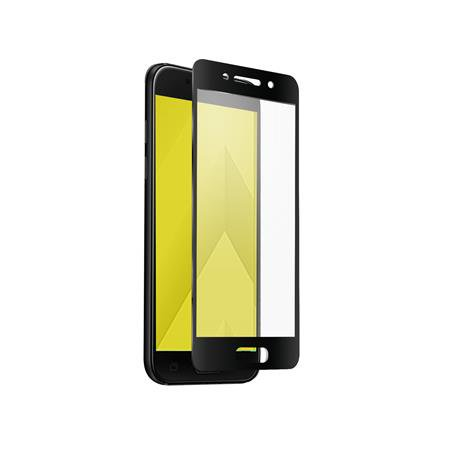 SBS - Full Cover Tempered Glass for Samsung Galaxy A3 2017, Black