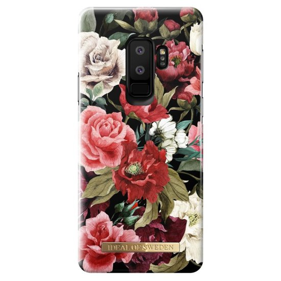 iDeal of Sweden - Fashion Case for Samsung Galaxy S9, black with floral motif
