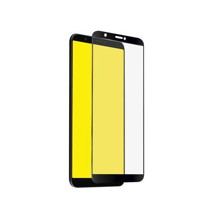 SBS - Full Cover Tempered Glass for Huawei P Smart / Honor Enjoy 7S, Black