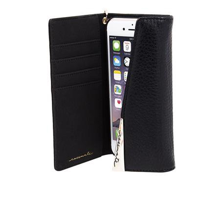 Case-Mate - Wallet Case for Apple iPhone 8/7 / 6S / 6 Plus, Black