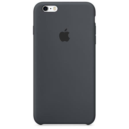 Apple - Silicone Case for iPhone 6S / 6 Plus, Gray