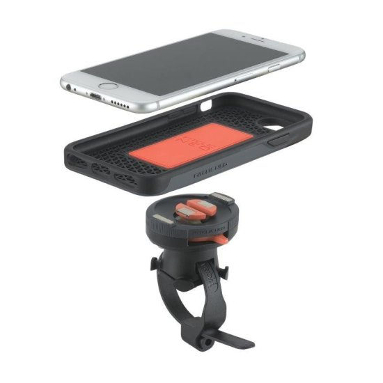 TigraSport - FitClic Motorcycle Kit for iPhone 8/7 / 6S Plus