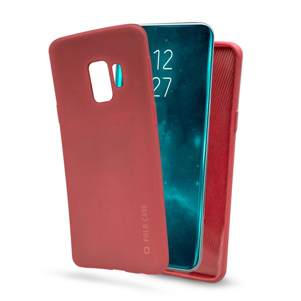 SBS - Polo Case for Samsung Galaxy S9, Red