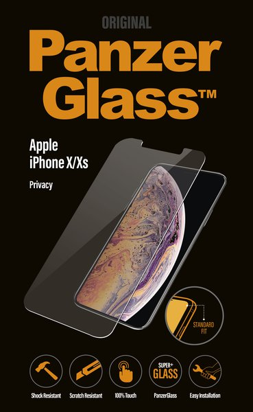 PanzerGlass - Tempered Glass for Apple iPhone X / XS Privacy