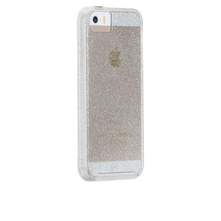 Case-Mate - Sheer Glam Case for Apple iPhone SE / 5S / 5, champagne