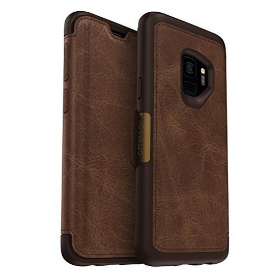 OtterBox - Strada Case for Samsung Galaxy S9, Brown