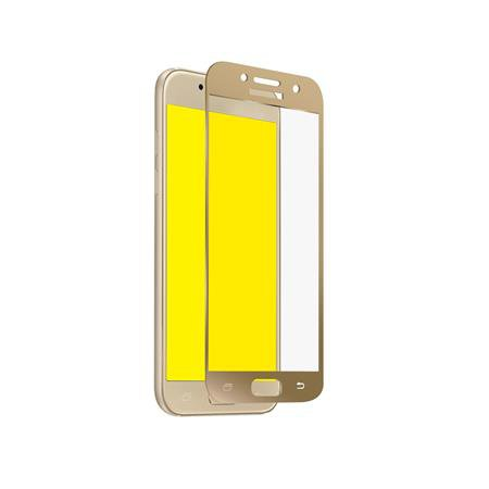 SBS - Full Cover Tempered Glass for Samsung Galaxy A3 2017, Gold