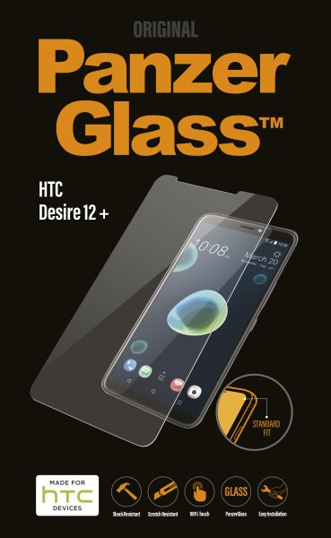 PanzerGlass - Tempered Glass for HTC Desire 12+