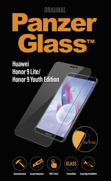 PanzerGlass - Tempered Glass for HuaweiHonor9 Lite / 9 Youth Edition, Clear