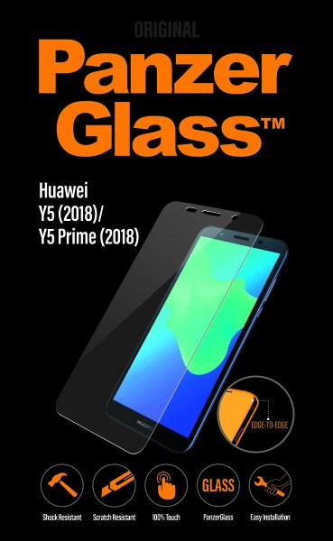 PanzerGlass - Tempered Glass for Huawei Y5 (2018) / Y5 Prime (2018)