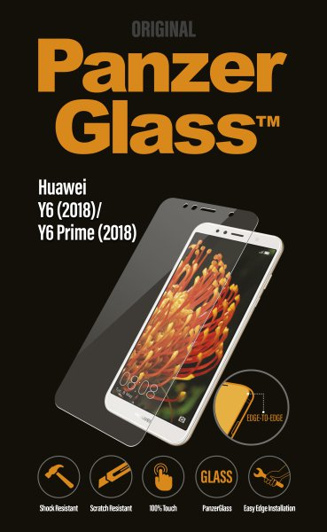 PanzerGlass - Tempered glass for Huawei Y6 (2018), clear