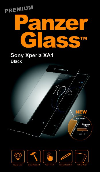 PanzerGlass - PREMIUM Tempered glass for Sony Xperia XA1, black