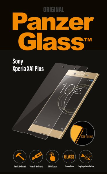 PanzerGlass - Tempered glass for Sony Xperia XA1 Plus, clear