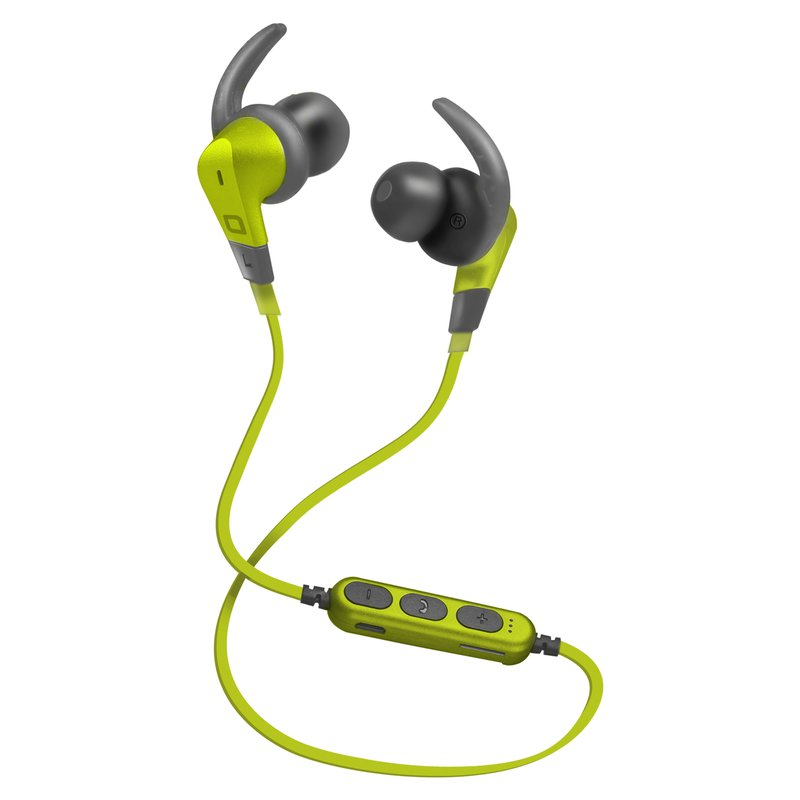 SBS - Sports Bluetooth Headset with Micro SD Port, Green