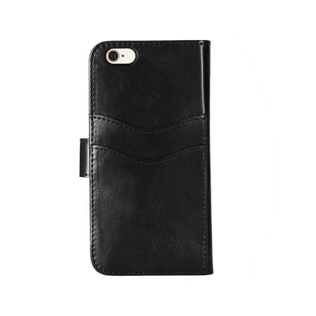 iDeal of Sweden - Magnet Wallet + Case for Apple iPhone 6S / 6 Plus, Black