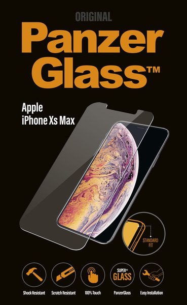 PanzerGlass - Tempered Glass for iPhone XS Max