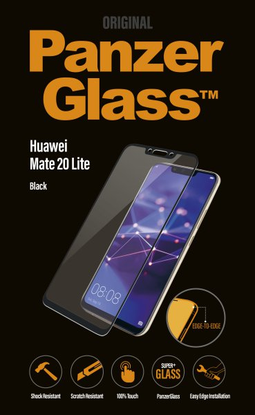 PanzerGlass - Tempered glass for Huawei Mate 20 Lite, black
