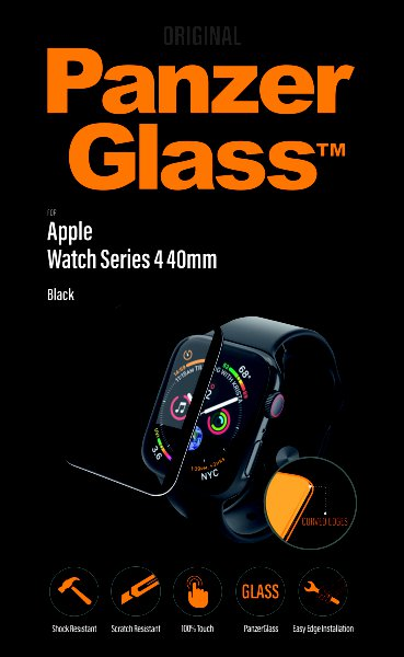 PanzerGlass - Tempered Glass for Apple Watch 4 40mm, Clear