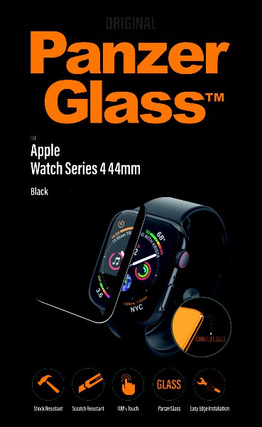 PanzerGlass - Tempered Glass for Apple Watch 4 44mm, Clear