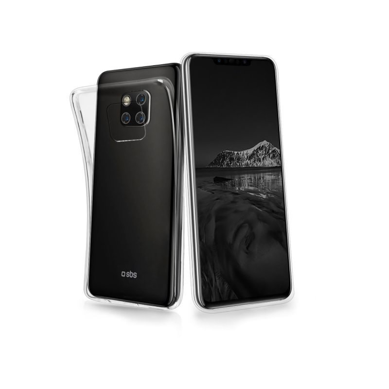 SBS - Skinny Case for Huawei Mate 20 Pro, transparent