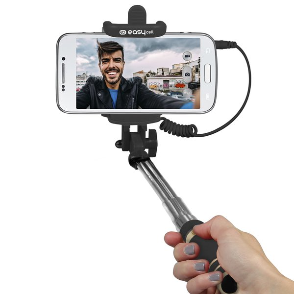 SBS Easy- Selfie stick Mini 60cm, black