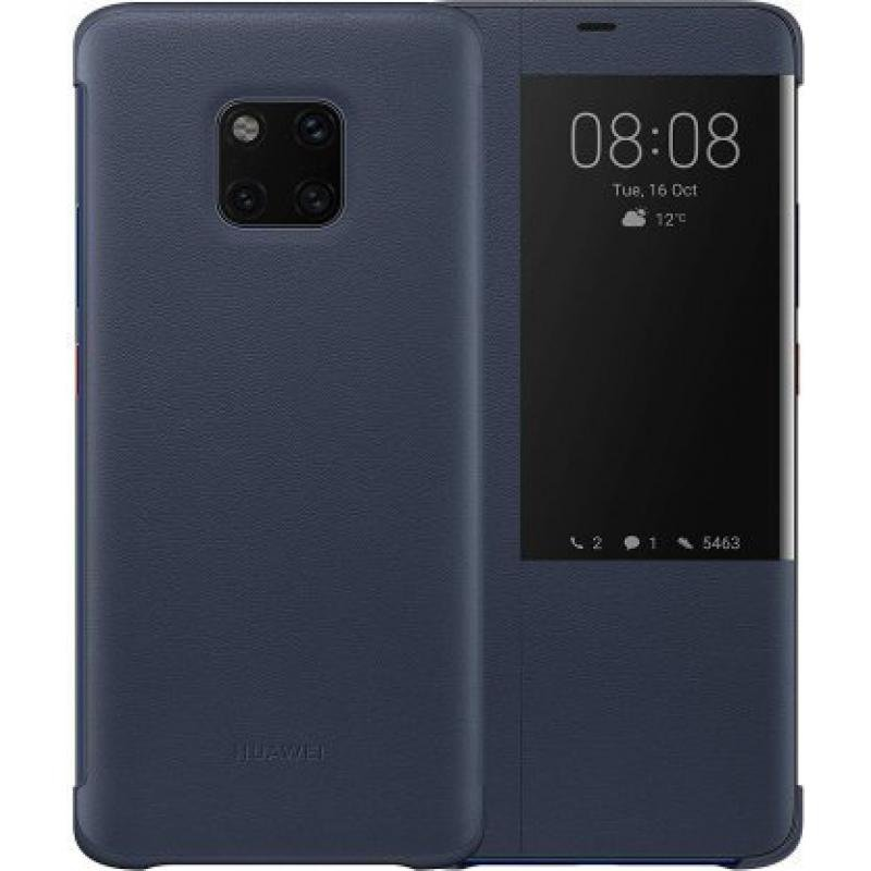 Huawei - Book Case, SmartView for Huawei Mate 20 Pro, Blue