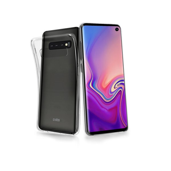 SBS - Skinny Case for Samsung Galaxy S10, Transparent